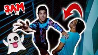 DO NOT Go Downstairs at 3AM! (Real Ghost)