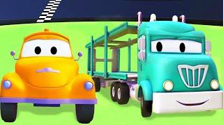 Odtahové auto pro děti - Tyrák Odtahové auto Tom ve Městě Aut