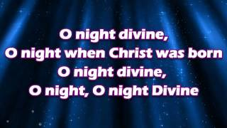 O Holy Night by Chris Tomlin with Lyrics (HD)