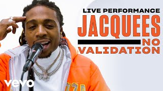 "Jacquees - ""No Validation"" Live Performance 