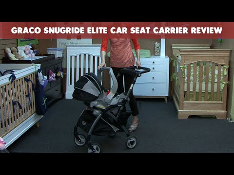 Graco Snugride Elite Car Seat Carrier Review | CloudMom