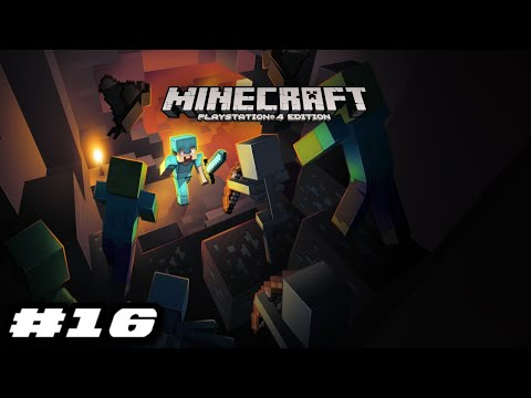 Minecraft PS4 2019 Gameplay - GOING THROUGH THE TUNNEL
