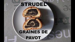 Strudel aux graines de pavot