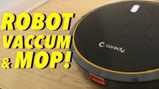 UNBOXING & LETS CLEAN! - COREDY R500 - ROBOT VACCUM CLEANER & MOP! (FULL REVIEW!)