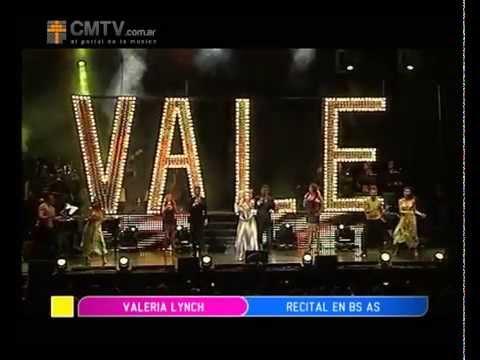 Valeria Lynch video Para cantarle a la vida - Teatro Gran Rex - Diciembre 2012
