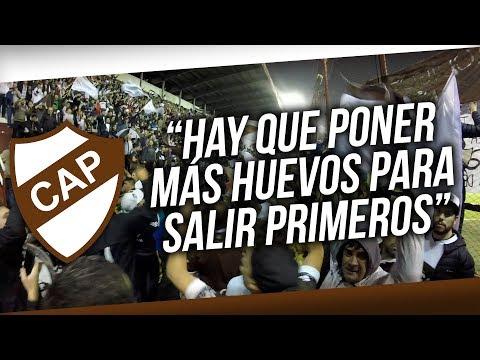 """""""Hay que poner mas huevos para salir primeros"""" Barra: La Banda Más Fiel • Club: Atlético Platense"""