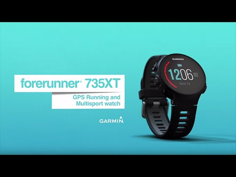 Garmin Forerunner 735XT (45mm, Kunststoff)