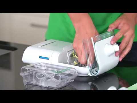 CPAP-Gerät und Maske richtig reinigen