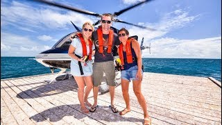 Cairns Australia Great Barrier Reef Scenic Helicopter Tour and Cruise