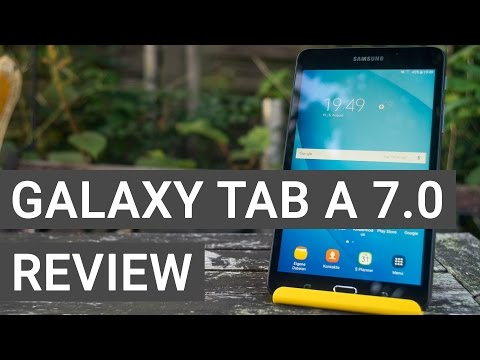 Samsung Galaxy Tab A 7.0 Review – The Best 7 Inch Tablet?