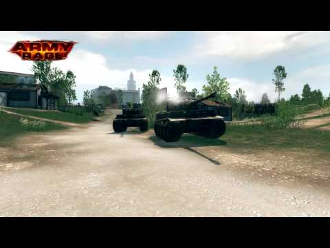 Army Rage — Official Gameplay Video(Tank Wars)
