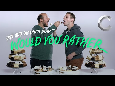 Would You Rather Eat One Ghost Pepper or Every Kind of Cheesecake at the Cheesecake Factory? | Cut