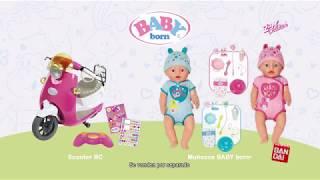 Muñecos BABY BORN y nueva SCOOTER RADIOCONTROL Trailer