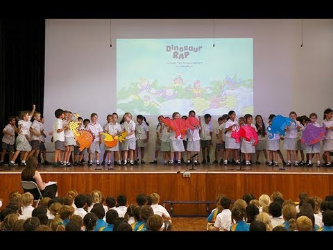 Upper Primary Assembly: Footprints from the Past by 3CS and 3JC
