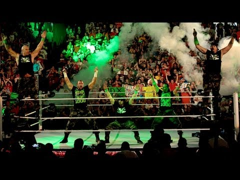 DX reunites on Raw's 1,000th episode: Raw, July 23, 2012 (видео)