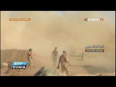 Pasukan Suriah Rebut Pangkalan Militer dari ISIS