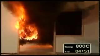 Скорость распространения пожара в помещении