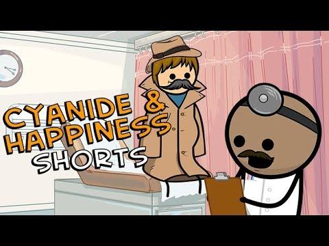 Vysocí hoši u lékaře - Cyanide & Happiness