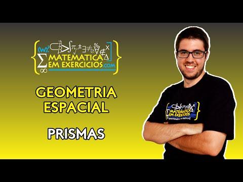 Geometria Espacial - Aula 2 - Prismas - Prof. Gui