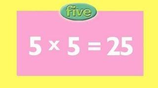 5 Times Tables | Learn Multiplication