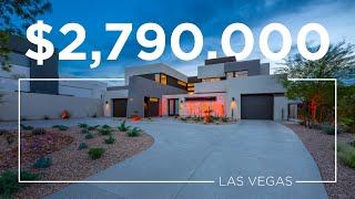 $2.8M Award Winning Ultra-Modern Home | 1325 Villa Barolo Ave | Las Vegas Luxury Home