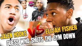 Top 8th Graders Elijah Fisher vs Jalen Hooks | Elijah Fishers SHUTS THE GYM DOWN VLOG!!!
