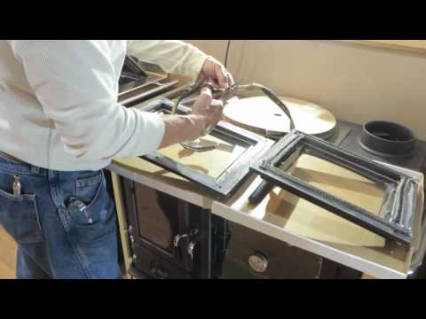 Concept 2 Wood Cookstove - Replacing the Latch and Gaskets
