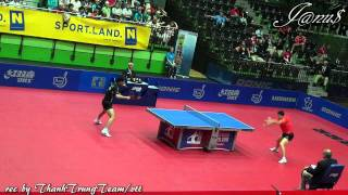 2011 Austrian Open (ms-f) MA Long - ZHANG Jike (HD-private Recording) [Full Match|Short Form]