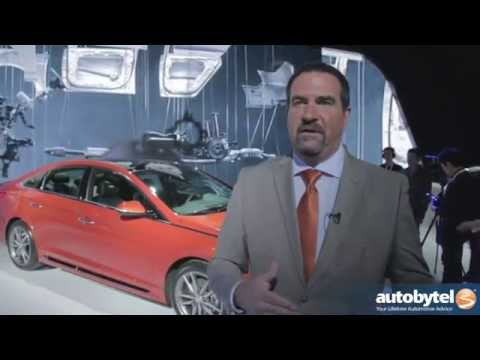 2015 Hyundai Sonata Design Overview at the 2014 New York International Auto Show