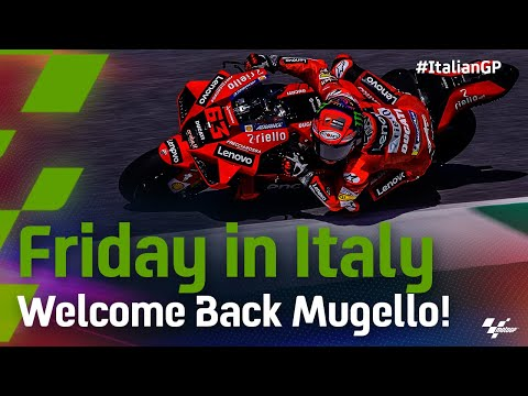 MotoGP 2021 第6戦イタリア 金曜日の練習走行ハイライト動画