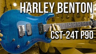 Best Top EVER! For €299??? Harley Benton TE-7 Fanfret Review