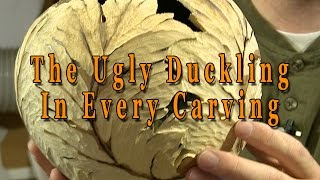 Power Carving  Gourd Carving  The Ugly Duckling In Every Carving