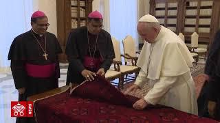 Papa Francisco recebe bispos do Paquistão