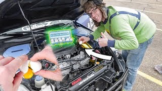 We put Eggs in his engine.. The results are WILD!!