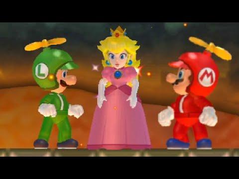 New Super Mario Bros Wii Walkthrough Co Op World 6 All Star