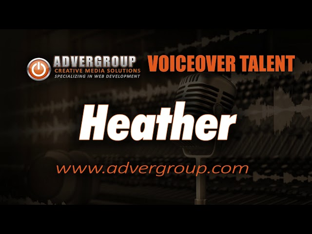 HEATHER Female VOICE ..