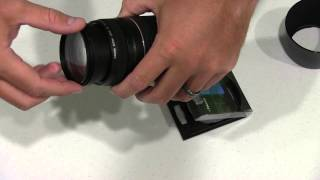 Polaroid Optics 58mm Multi Coated UV Protective Filter Unboxing