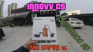 INNOVV C5 Motorcycle Camera system was Installed on Yamaha