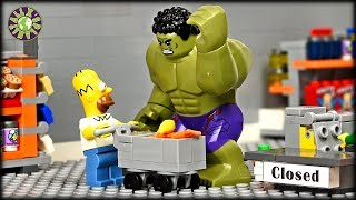Lego Hulk Shopping Break