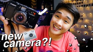 UNBOXING MY NEW CAMERA! 📸✨ Canon AF35M + My Film Camera Collection! (Philippines)