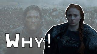 Game of Thrones - Why Sansa Betrayed Jon Snow