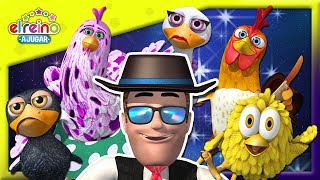 Suscríbete al canal http://bit.ly/ElReinoaJugar  Descubre cuáles son los amigos emplumados de La Granja de Zenón que participan en esta nueva canción de la familia dedos y cantemos juntos. ¡A JUGAR!     Síguenos/Follow us: Facebook ► https://www.facebook.com/ElReinoInfantil Twitter ► https://twitter.com/Reino_Infantil  Canción de La Familia del Gallinero | A Jugar