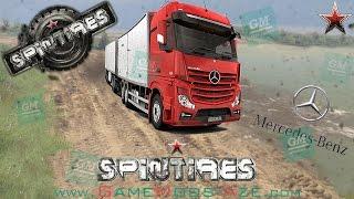 SpinTires - Mercedes-Benz Actros MP4 Truck Mod 2017 (Download Link)