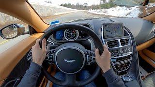 [WR Magazine] 2018 Aston Martin DB11 V12 Coupe - POV Test Drive by Tedward (Binaural Audio)