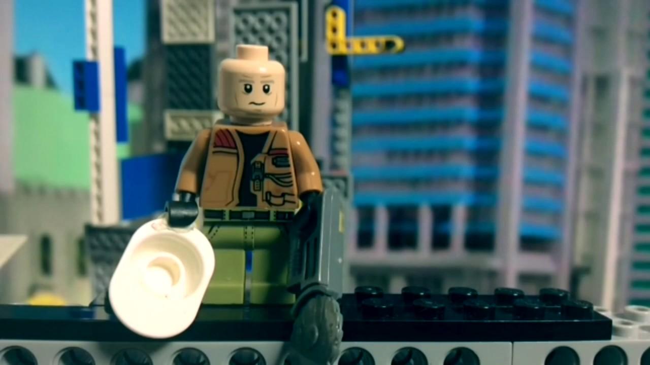 Las aventuras de Ace Brickman -  CAP. 1 -  lego animation - Versión de Julia y Elena