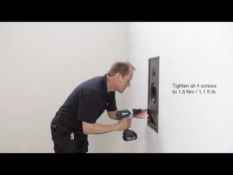 Aiw26b Active In Wall Speaker Genelec Com