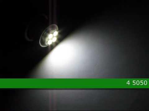 75845 E14 4 5050 S.M.D. LED Light Bulb 12V AC/DC NCNRNW