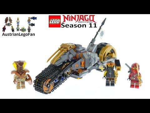 Vidéo LEGO Ninjago 70672 : La moto tout-terrain de Cole