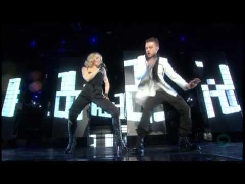03. Madonna feat Justin Timberlake - 4 Minutes [Live at Hard Candy Promo Tour]