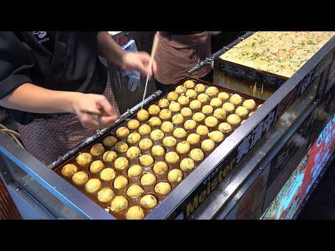 Japan Street Food Takoyaki Balls